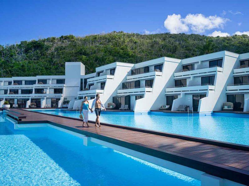 pool view - hayman-island