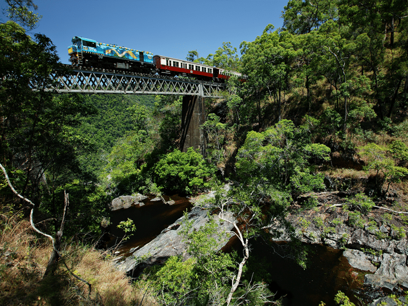 scenic rail kuranda