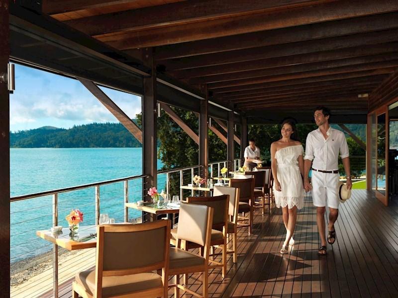 restaurant - qualia hamilton island