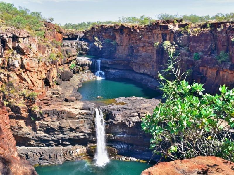 multiple waterfalls WA