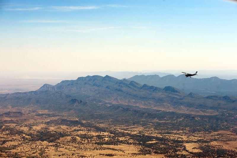 flight over flinders airview