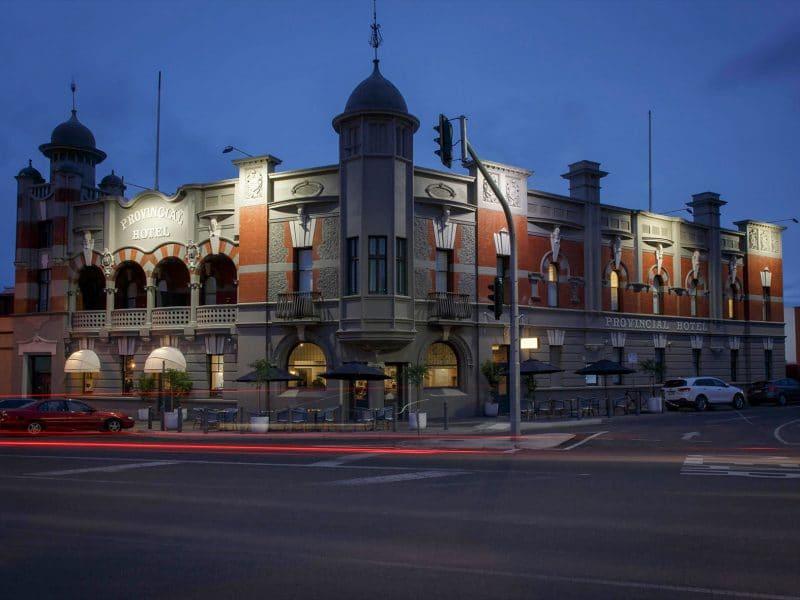 the provincial hotel ballarat exterior